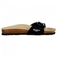 [해외]페페진스 Oban Basic Bright Loafer Sandals Black