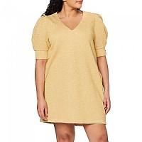 [해외]리플레이 Comfort Fit With Lurex Dress Gold Lurex