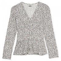 [해외]OXBOW N2 Corto Printed Long Sleeve Shirt White