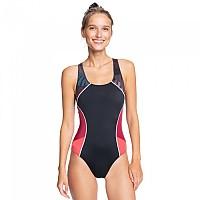 [해외]록시 Fitness Technical OP Swimsuit True Black Palm Camo