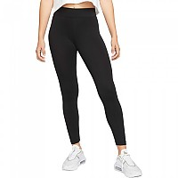 [해외]나이키 Sportswear Mid Rise Leggings Black / White