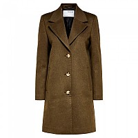 [해외]SELECTED New Sasja Wool Coat Tarmac