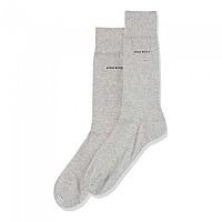 [해외]BOSS Marc Stripe Socks Silver