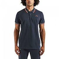 [해외]카파 Esmo Short Sleeve Polo Blue Navy / White / Red
