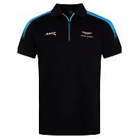 [해외]HACKETT B&T Amr Fade Zip Short Sleeve Polo Black