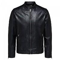 [해외]SELECTED R-03 Racer Leather Jacket Black
