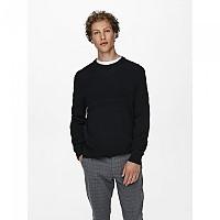 [해외]ONLY & SONS Bace Sweater Black