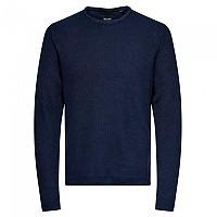 [해외]ONLY & SONS Niko Life Sweater Dress Blues