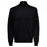 [해외]ONLY & SONS Wyler Life Roll Neck Sweater Black