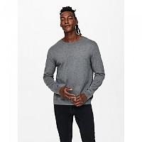 [해외]ONLY & SONS Wyler Life Sweater Medium Grey Melange