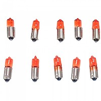 [해외]PUIG Star 12v-6w Turn Light Bulb 10 Units 9138338230 Clear