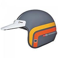 [해외]넥스 X.G10 Larry Span Open Face Helmet 9137330052 Orange
