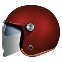[해외]넥스 X.G10 Clubhouse SV Open Face Helmet 9137764707 Burgundy