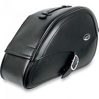 [해외]새들맨 Harley Davidson Dyna Drifter Teardrop Rigid Mount Specific Fit 9137476028 Black