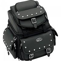 [해외]새들맨 BR1800EX/S Studded Combination Backrest/Seat/Sissy Bar 29.5L 9137476129 Black