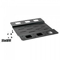 [해외]PUIG Mega Box Mounting Plate+Screws 9138338159 Black