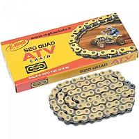 [해외]REGINA 520/135 Quad Clip Z Ring Replacement Drive 9137478774 Gold / Natural