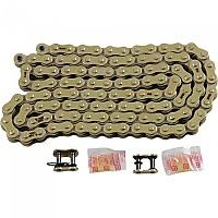 [해외]RK 520 MAX-O Clip&Rivet O Ring Drive Chain 9137535777 Gold