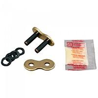 [해외]RK 525 ZXW Rivet XW Ring Connecting Link 9137535863 Gold / Black
