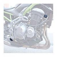 [해외]PUIG Chassis Plugs Kawasaki Z900 17-19 9138338089 Black