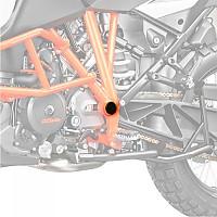 [해외]PUIG Chassis Plugs KTM Adventure/Superduke 9138338091 Black