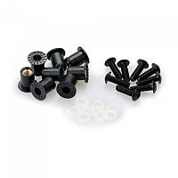 [해외]PUIG Universal Screw Kit Anodized With Wellnuts 9138338248 Black