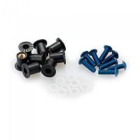 [해외]PUIG Universal Screw Kit Anodized With Wellnuts 9138338249 Blue