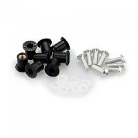 [해외]PUIG Universal Screw Kit Anodized With Wellnuts 9138338250 Silver