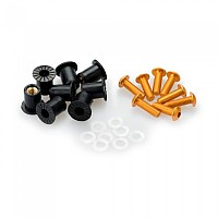 [해외]PUIG Universal Screw Kit Anodized With Wellnuts 9138338251 Yellow