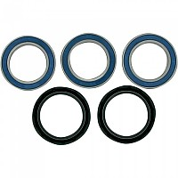 [해외]MOOSE HARD-PARTS 25-1560 Wheel Bearing And Seal Kit Kawasaki 9138347146 Multicolour
