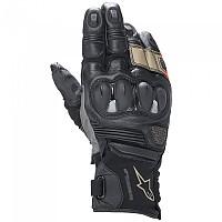 [해외]알파인스타 Belize V2 Drystar Gloves 9138237328 Black / Sand / Fluo Red