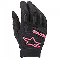 [해외]알파인스타 Stella Full Bore Gloves Woman 9138237737 Black / Fluo Pink