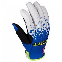 [해외]스캇 350 Race EVO Gloves 9138298412 Blue / Yellow