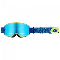 [해외]오닐 B-20 Strain Goggles 9138342203 Blue / Neon Yellow