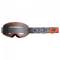 [해외]오닐 B-20 Strain Goggles 9138342204 Grey / Orange