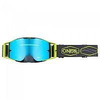 [해외]오닐 B-30 Hexx Goggles 9138342206 Grey / Neon Yellow