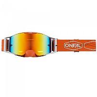 [해외]오닐 B-30 Hexx Goggles 9138342207 Orange / White