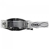 [해외]오닐 B-30 Hexx Goggles With Roll Off System 9138342208 Black / White