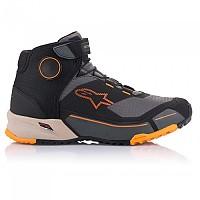 [해외]알파인스타 CR-X Drystar Riding Motorcycle Shoes 9138237363 Black / Light Brown / Orange
