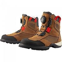 [해외]ICON Stormhawk WP Motorcycle Boots 9138335895 Brown