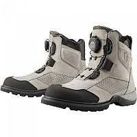 [해외]ICON Stormhawk WP Motorcycle Boots 9138335896 Grey