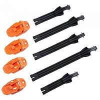 [해외]오닐 Rider Pro Buckle+Strap Kit 9138342390 Orange / Black