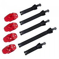 [해외]오닐 Rider Pro Buckle+Strap Kit 9138342391 Red / Black