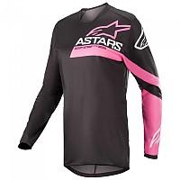 [해외]알파인스타 Stella Fluid Chaser Long Sleeve T-Shirt 9138237734 Black / Fluo Pink