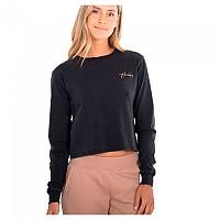 [해외]헐리 Oceancare Washed Butterfly Long Sleeve T-Shirt 14138238650 Black