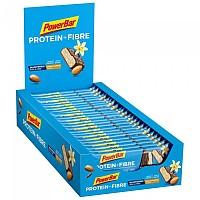 [해외]파워바 35g ProteinPlus Fibre Vanilla Almond Energy Bars Box 24 Units 4138270336 Blue