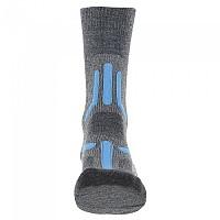 [해외]UYN Trekking 2in Merino Mid Socks 4138217589 Mid Grey / Turquoise