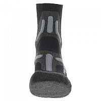[해외]UYN Trekking 2in Merino Socks 4138217592 Black / Grey