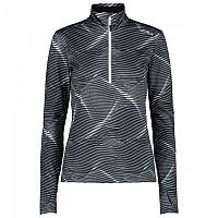 [해외]CMP Sweat Long Sleeve T-Shirt 4138315677 Black / Titanio