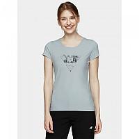[해외]4F Short Sleeve T-Shirt 4138349555 Light Blue